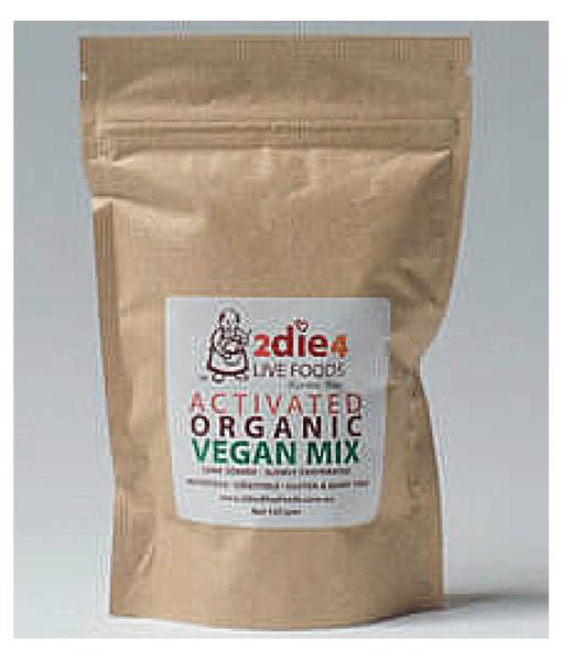 2DIE4 Activated Organic Vegan Mix