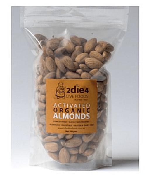 2DIE4 Organic Almonds