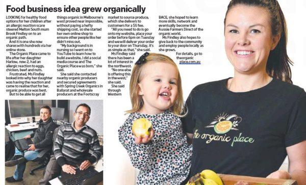 Food Business Idea Grew Organically, www.theorganicplace.com