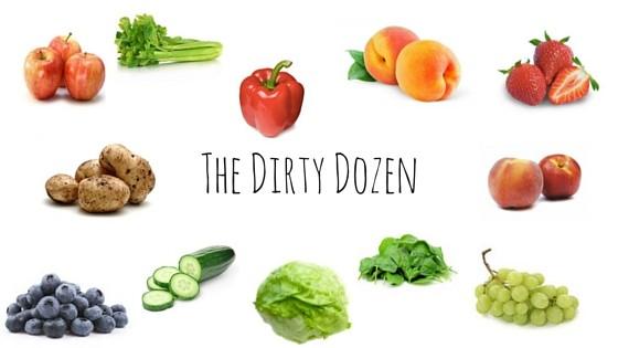 The Dirty Dozen, www.theorganicplace.com.au