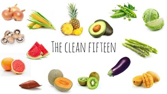 The Clean Fifteen, www.theorganicplace.com.au