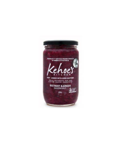 Kehoe's Beetroot & Ginger Sauerkraut