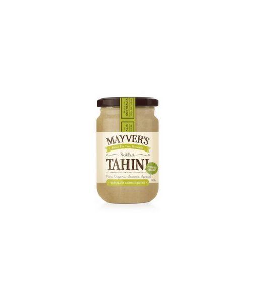 Mayvers Organic Tahini Hulled