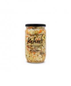 Kehoe's Organic Kale and Carrot Sauerkraut