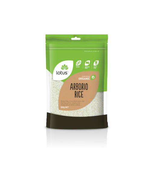 Lotus Orgaic Arborio Rice