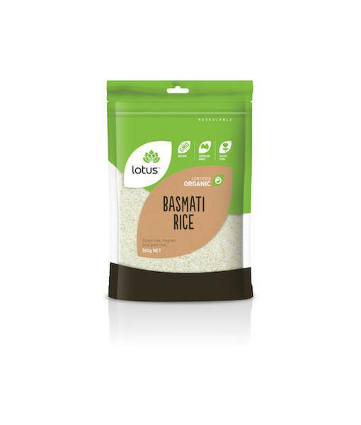 Lotus Orgnaic Basmati Rice