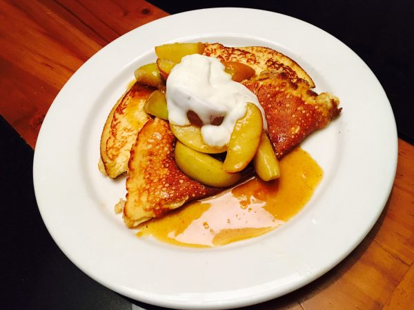 Spiced Apples in Orange Butter Sauce