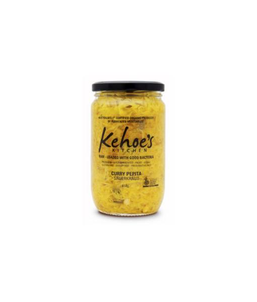 Kehoe's Curry Pepita Sauerkraut