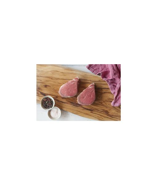 Certified Organic Beef Eye Fillet Steaks - 2 pieces