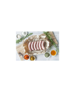 Certified Organic Lamb, Honey & Rosemary Sausages