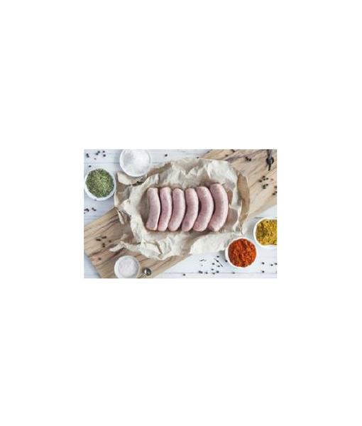 Certified Organic Traditional Lamb Gourmet Sausages