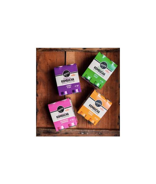Remedy Kombucha 4 Pack