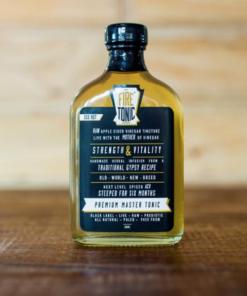Hilbilby FiRE TONiC ® - Black Label - [180ml Hip Flask]
