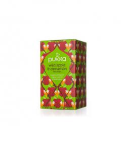 Pukka Wild Apple & Cinnamon Tea