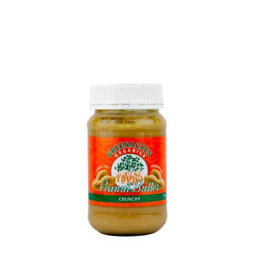 Organic Peanut Butter - Crunchy
