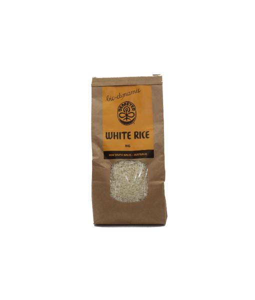 Organic Medium Grain White Rice