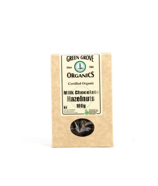 Organic Milk Chocolate Coated Hazelnuts